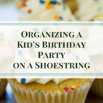 Organizing a Kid's Birthday Party on a Shoestring can still become spectacular! Here are some tips to help you.