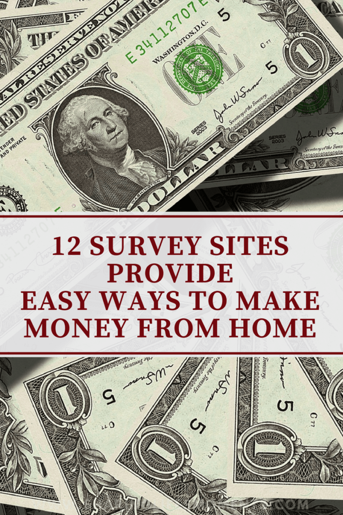 12 Survey Sites Provide Easy Ways to Make Money From Home 1