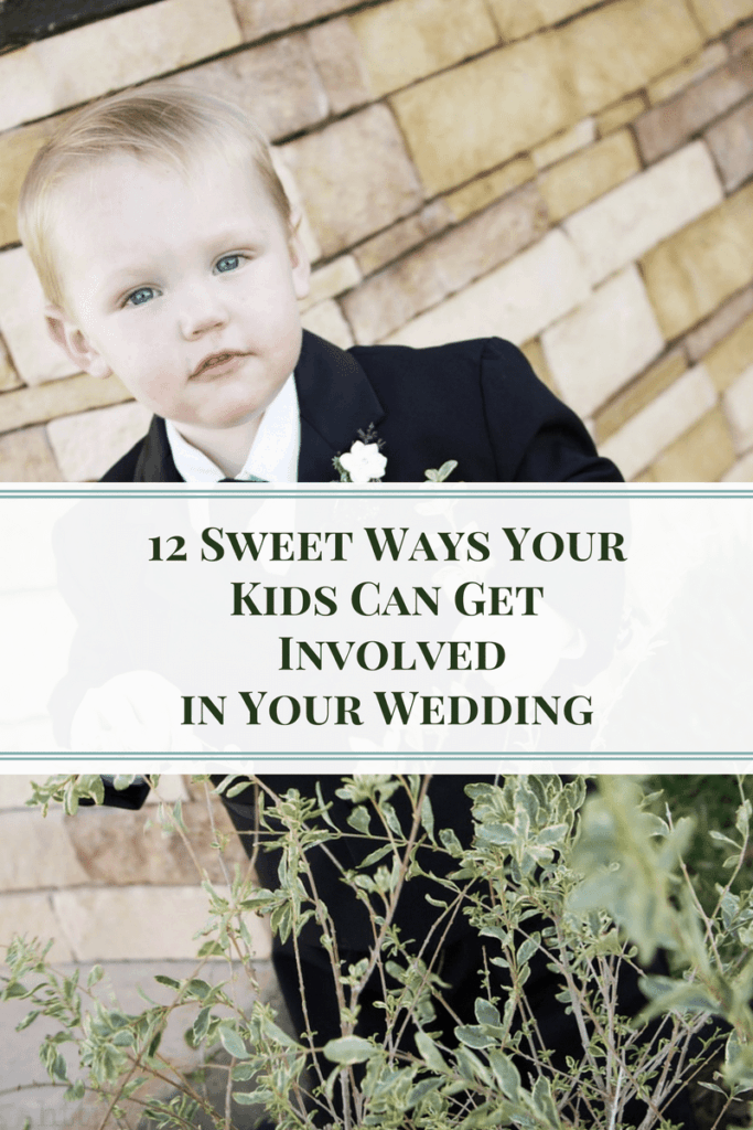 12 Sweet Ways Your Kids Can Get Involved in Your Wedding 2