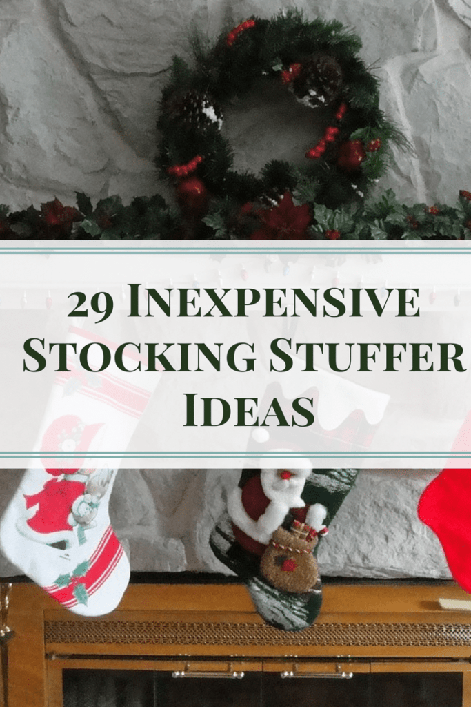 29 Inexpensive Stocking Stuffer Ideas 2