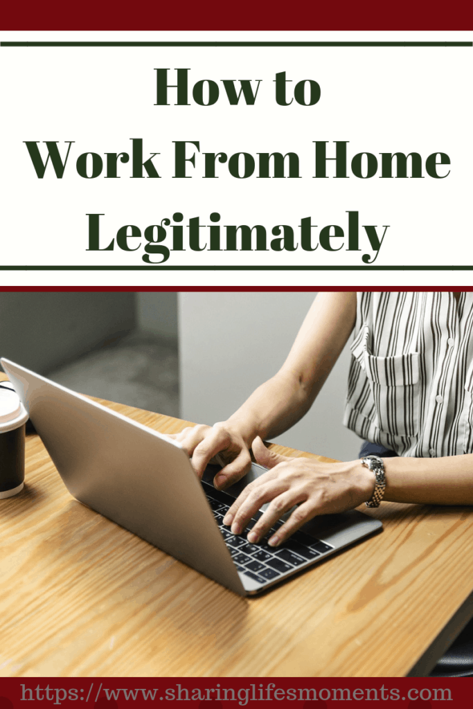 Come read this guide to how to work from home legitimately! It will get you headed in the right direction for making money from home.