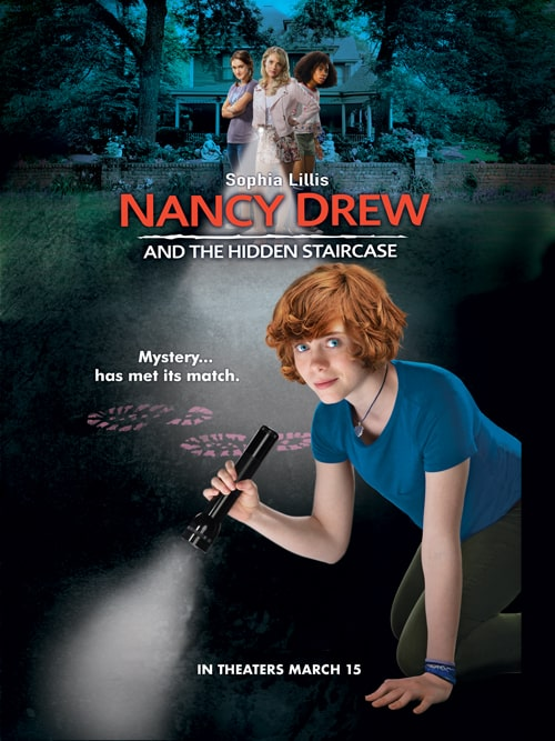 Learn more about the new Nancy Drew and the Hidden Staircase movie and enter to win your own copy. This wholesome family movie will be well liked by all.