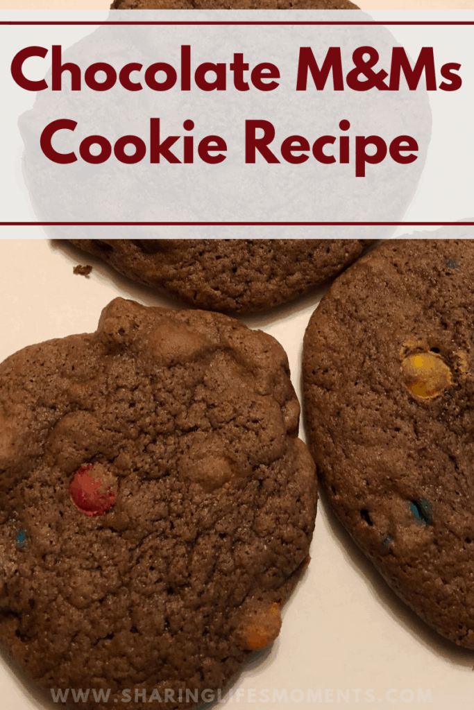This chocolate MMs cookie recipe will melt in your mouth. Your family will beg for you to make more.
