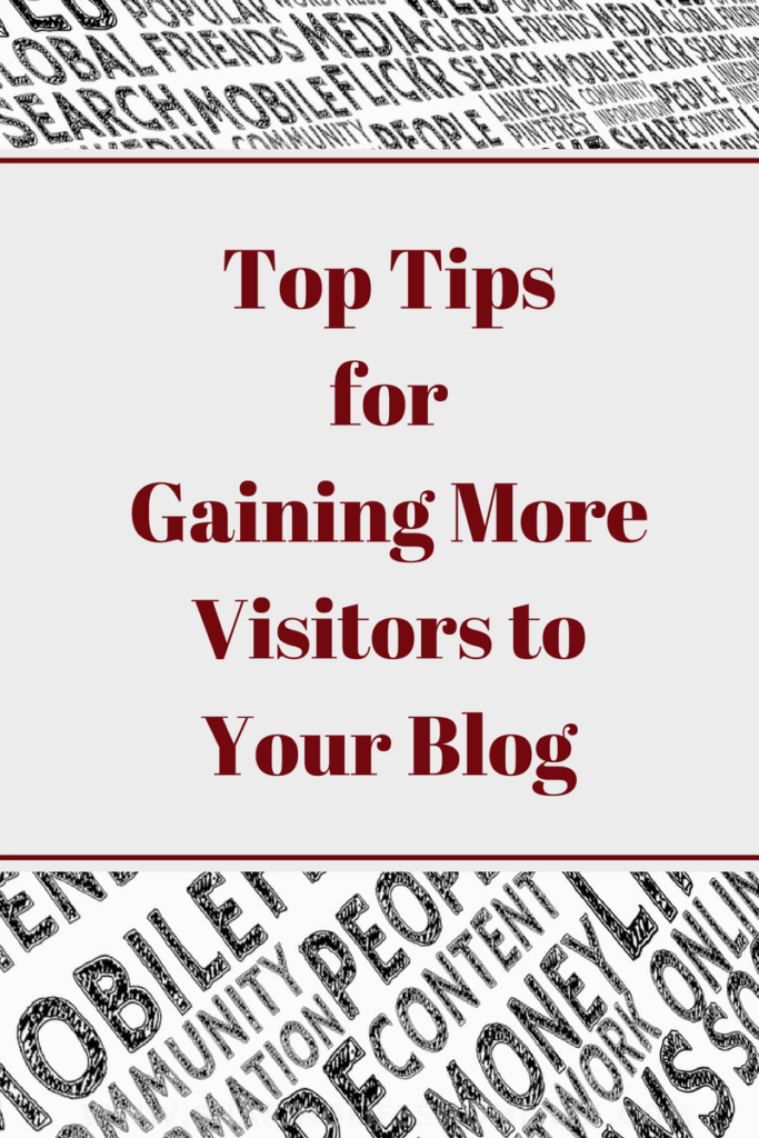 Gaining more visitors to your blog is not as complicated as it seems. These tips are some solid tips to get you started. What would you add to it?