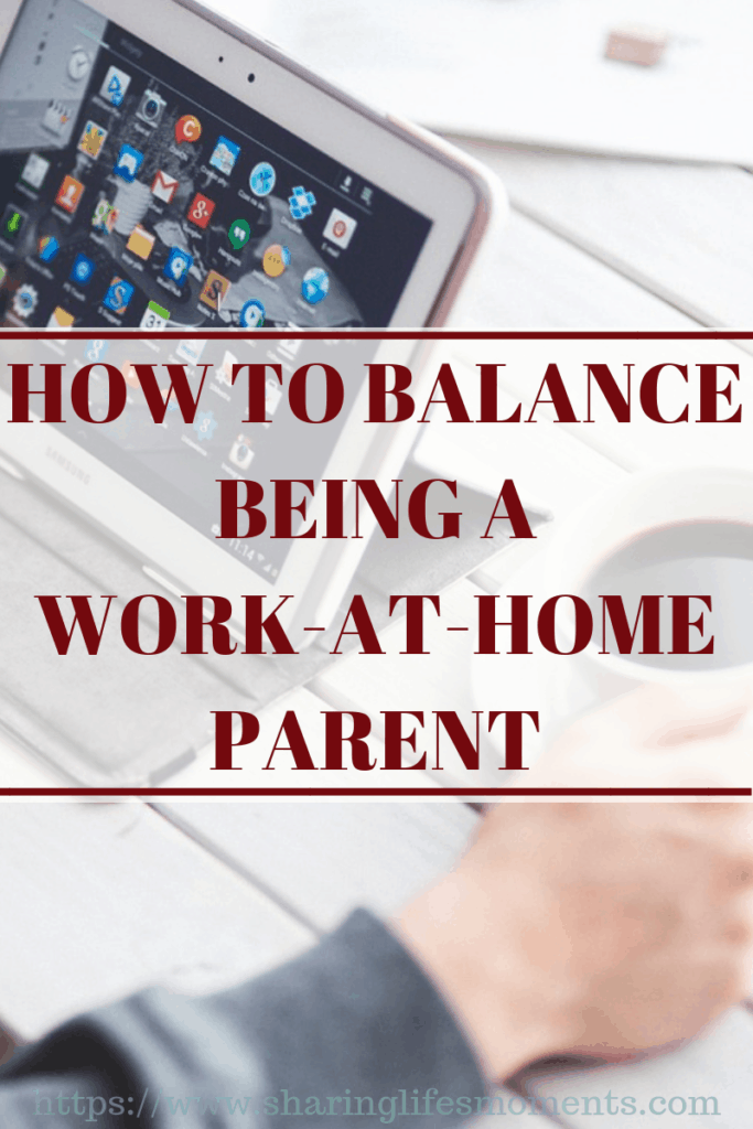 You can balance being a work-at-home parent. These tips will help you find that balance a little bit easier.