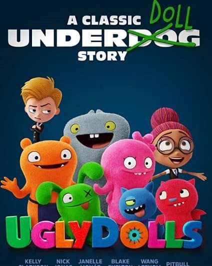 Get your family ready to watch the UGLYDOLLS family movie this weekend. Learn more about it here!