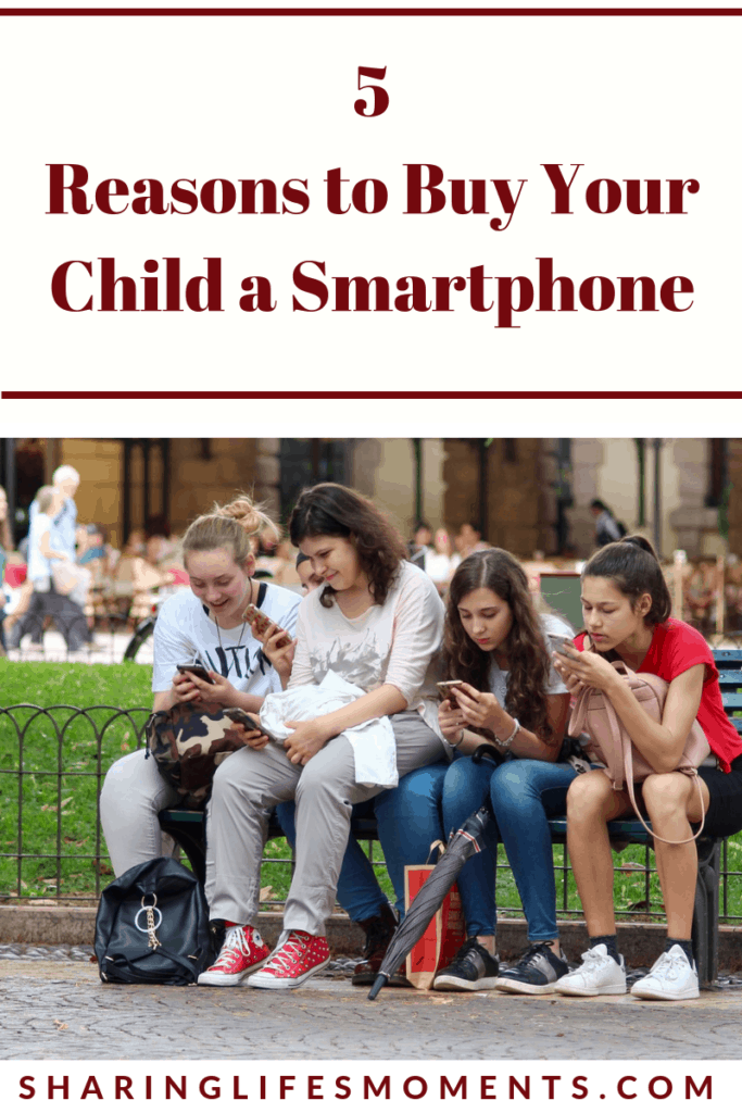 In our technology-driven world, it's hard to know when to get your kids' cell phones. Here are five reasons to buy your child a smartphone.