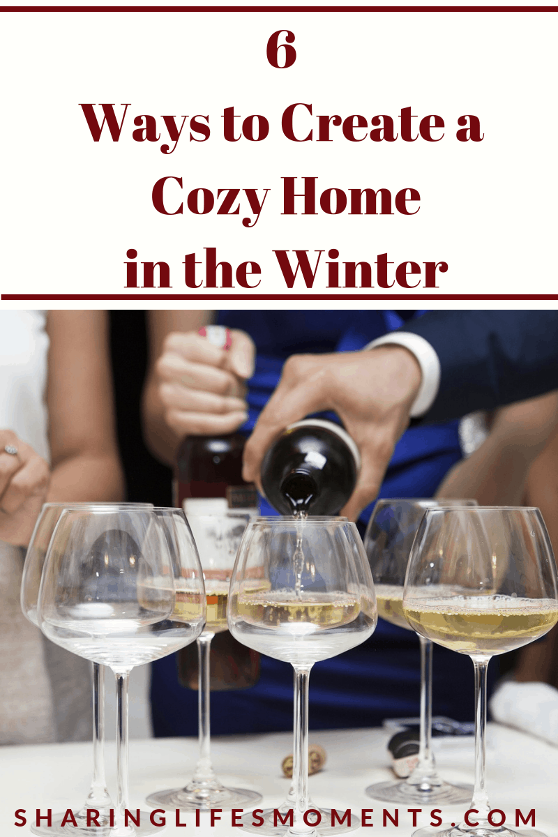 Just because it's cold outside, doesn't mean your home has to be filled with cold tension. Here are six ways to create a cozy home in the winter.