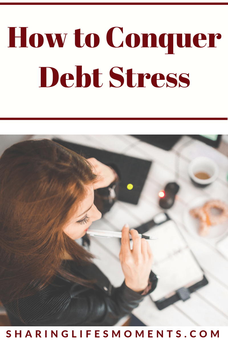 Dealing with debt stress is a huge burden that many of us face. Here are some tips on how to conquer debt stress in a positive way.