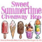 Sweet Summertime Giveaway Hop from August 2, 2019, till August 16, 2019. #giveaway #giveawayhop Enter to win many prizes.