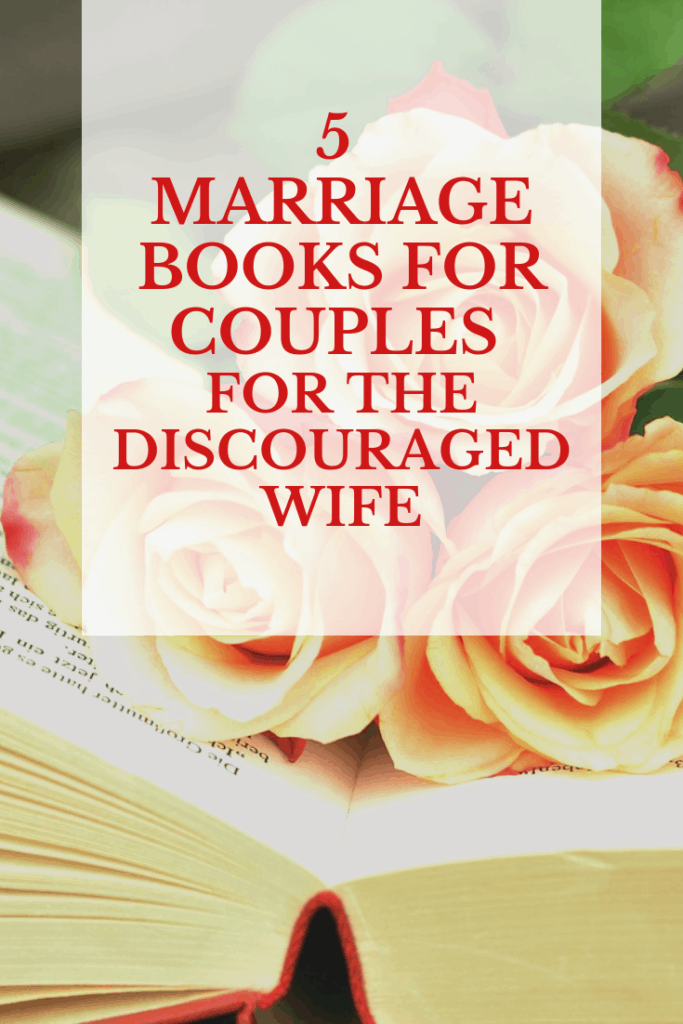 The discouraged wife can find hope and inspiration to help save her marriage with these marriage books for couples. Find out which books to read here!