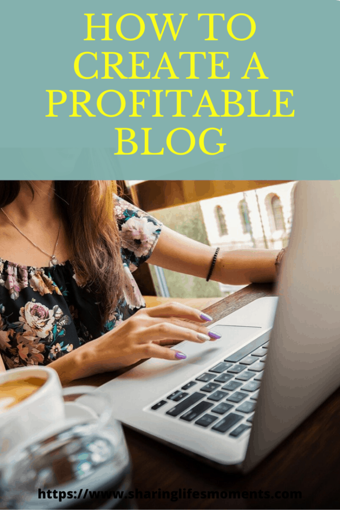 Here is a quick easy to follow how to create a profitable blog tutorial. It covers the first initial steps for getting a blog started. #blogging #bloggingtips #blogginghowto