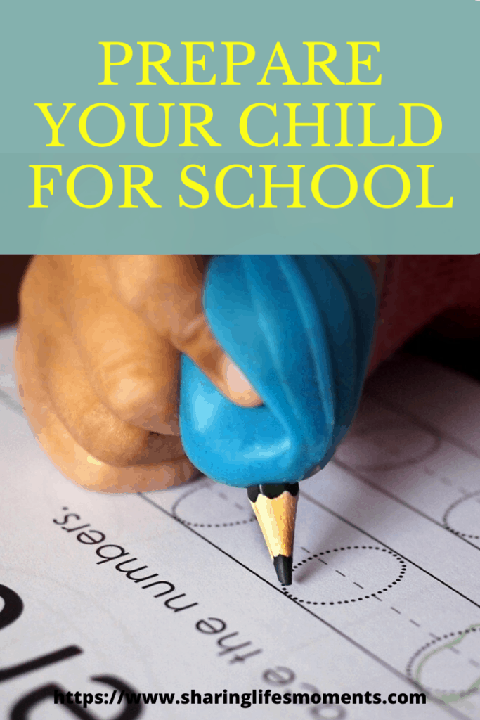 One of the hardest things to do is to prepare your child for school. Here are some simple practical tips to help you with that. #parentingtips #parenting #raisingkids