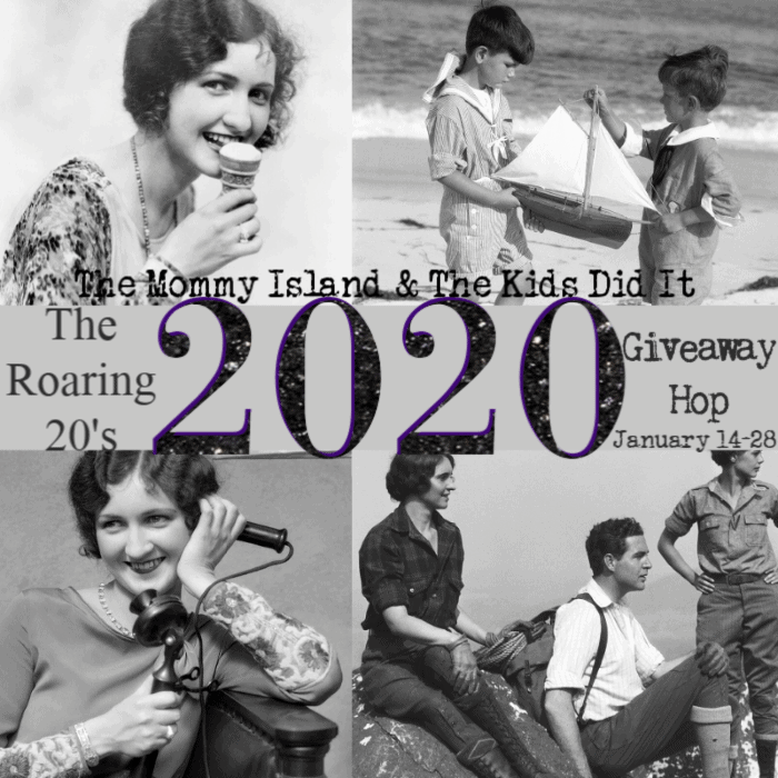 Enter to win Visa gift card in this giveaway hop. This giveaway hop will give you plenty of chances to win awesome prizes. #giveawayhop #giveaway #win #2020Roaring20s