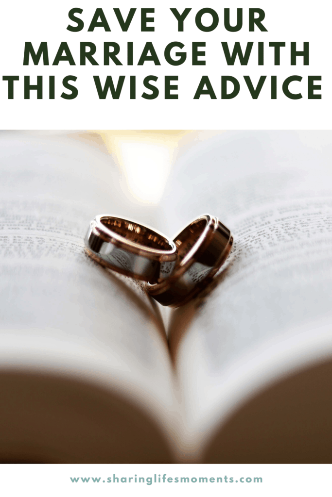 Save your marriage with this wise advice that has been passed down from women happily married over sixty years. It's so simple you don't want to miss it.