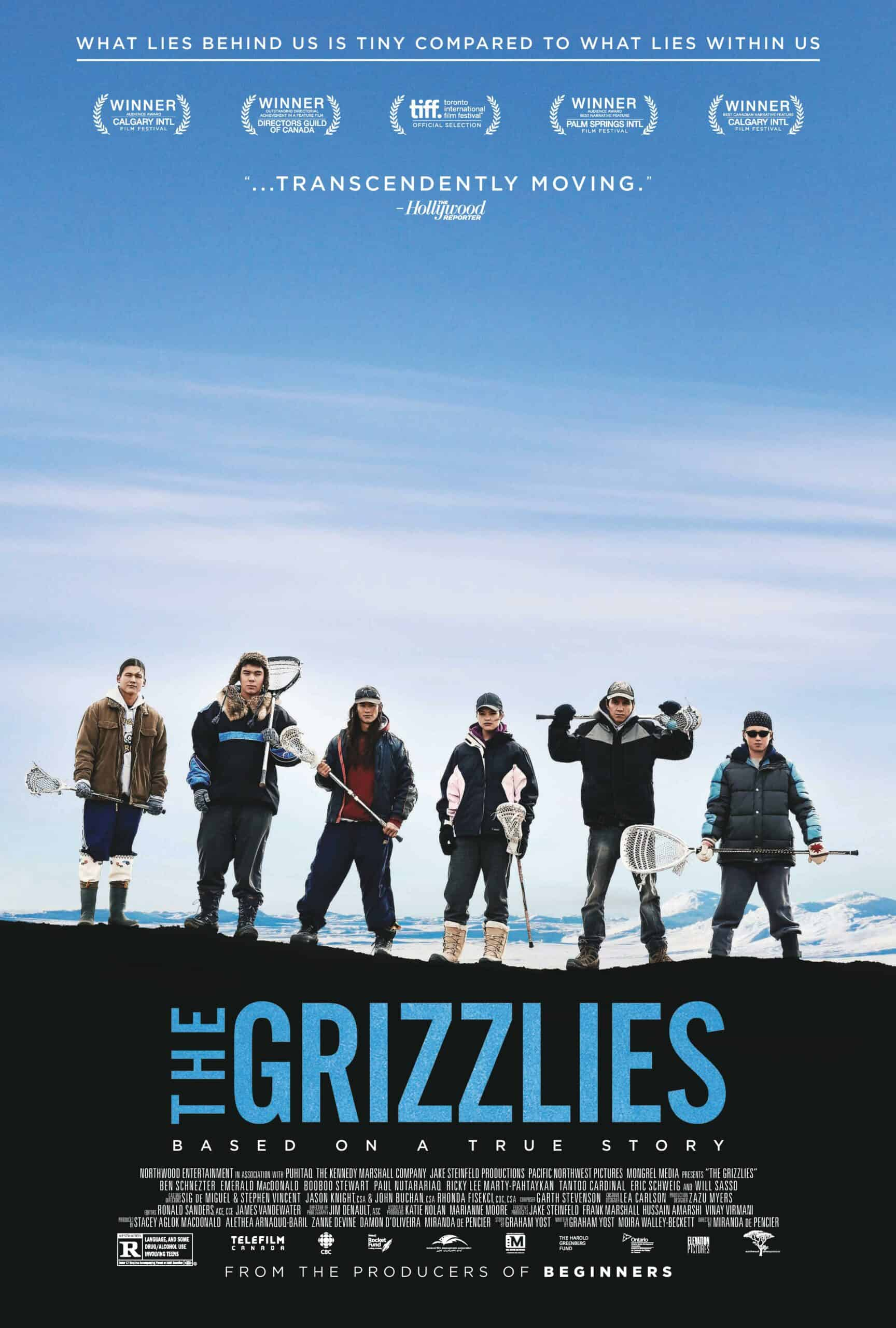 Now you have the chance to enter to win two tickets to see The Grizzlies in theaters on opening night. Find out more by visiting the blog. #giveaway #movielovers #win