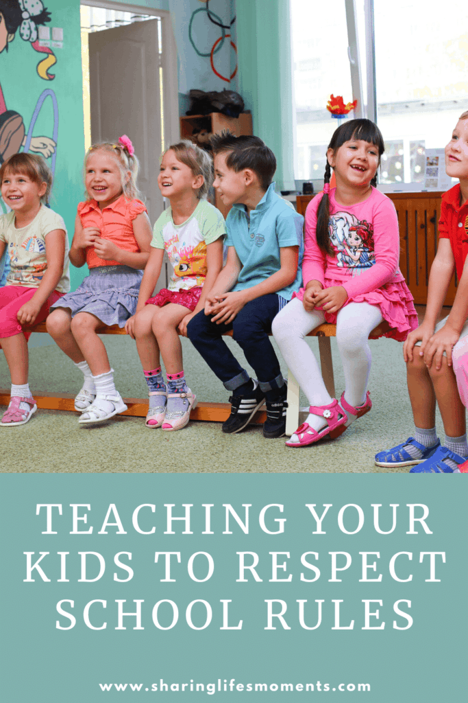 Now is the time to teach your kids to respect school rules. Here are some tips for helping you to do that. What would you add?
