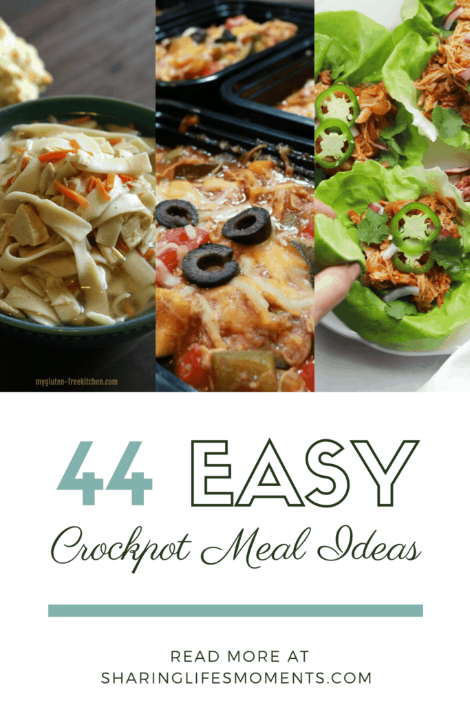 There's no need to look any further if you want easy crockpot meal ideas for dinner tonight. These are all simple meal ideas. Come pick one!  #recipes #foodie #foodforfuel #food