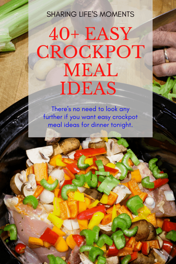 There's no need to look any further if you want easy crockpot meal ideas for dinner tonight. These are all simple meal ideas. Come pick one!