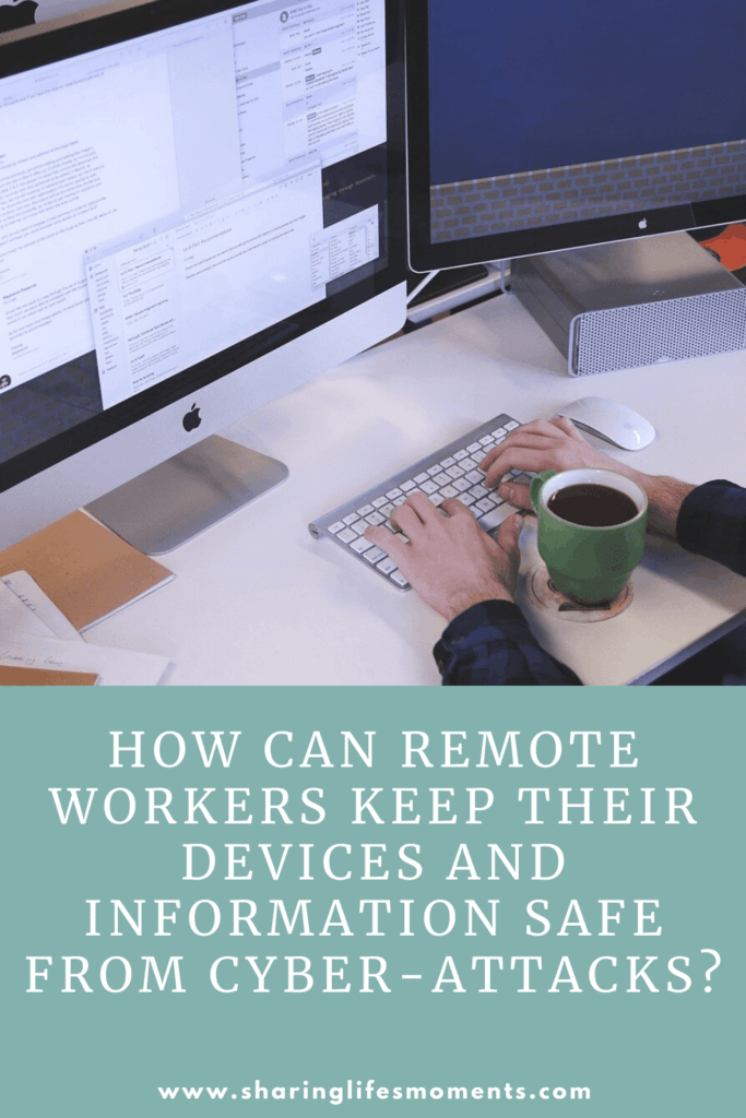 As a remote worker, it's important that we ensure we have cybersecurity measures in place. Here are some tips to help you.