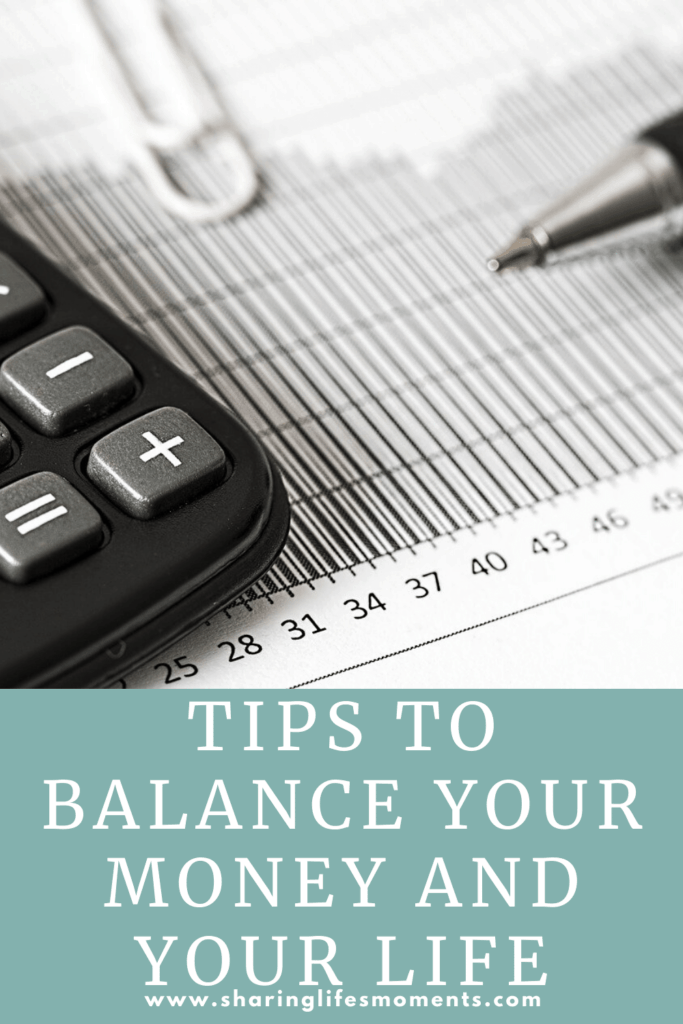 By putting these simple tips to balance your money into practice you find more peace of mind. What else would you add? #moneymanagement #finances #sharinglifesmoments