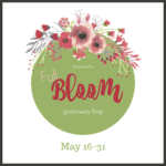 Enter to win great prizes in the Full Bloom Giveaway Hop. #Giveawayhop, #prizes, #bloggersponsoredgiveaways #fullbloomgiveawayhop #fullbloom