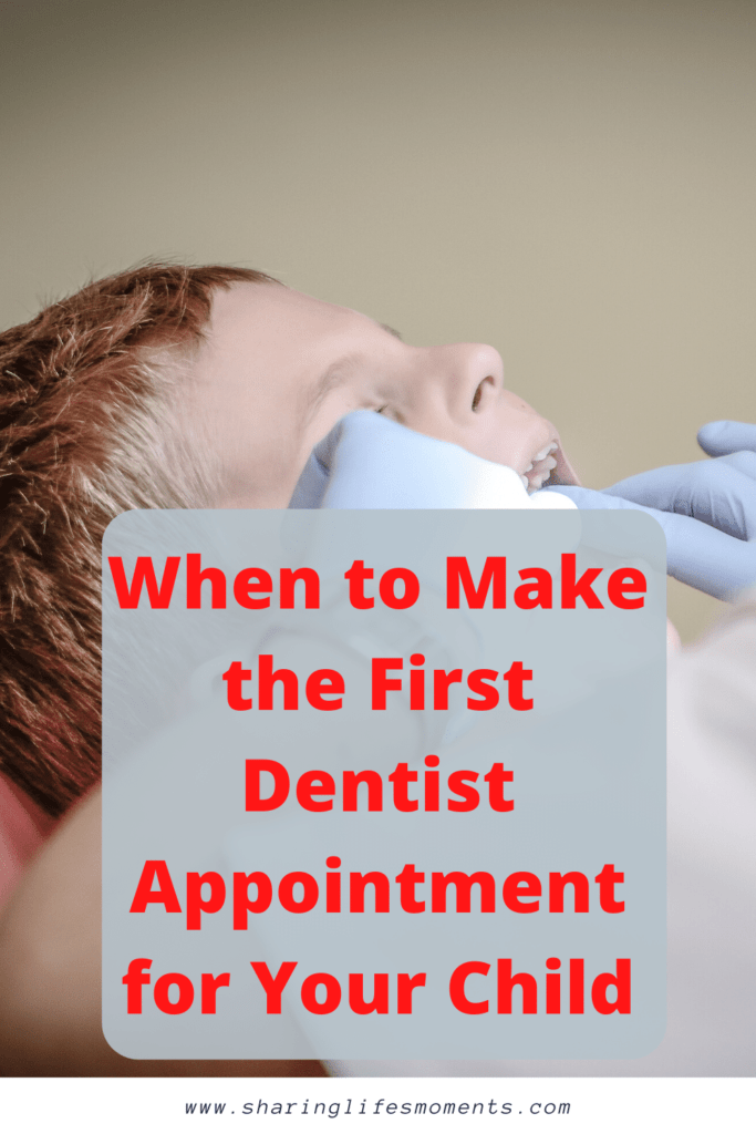 Being a first time parent, it's sometimes hard to know when to tackle certain milestones. Be sure to when to make the first dentist appointment for your child by reading this.