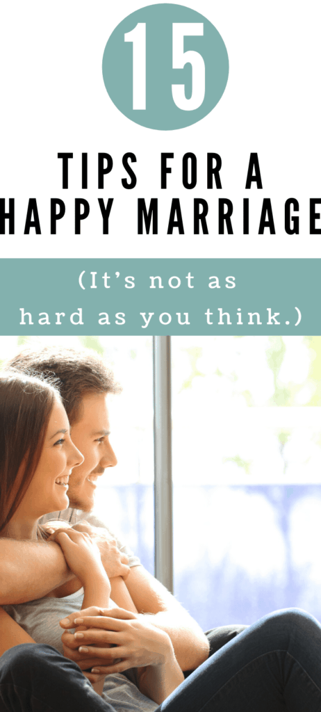 15 Tips for a Happy Marriage 1
