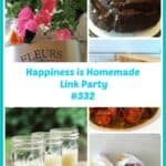 Meet a ton of wonderful bloggers sharing loads of information to help make your life better in the Happiness is Homemade Link Party. Be sure to come add your blog links so we can get to know you too. #bloghops #blogging #blogginglife #lifetips