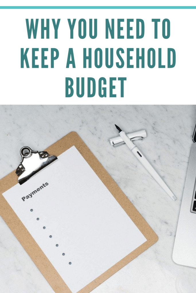 I've listed off some of the top reasons as to why you need to keep a household budget. Do you have a household budget in place? #savemoney #financialfreedom #money #budget  #savemoneylivebetter