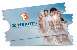 Enter to win $25 Fandango gift card in this simple #giveaway. #2HeartsLev3l #ad #movielovers #movie