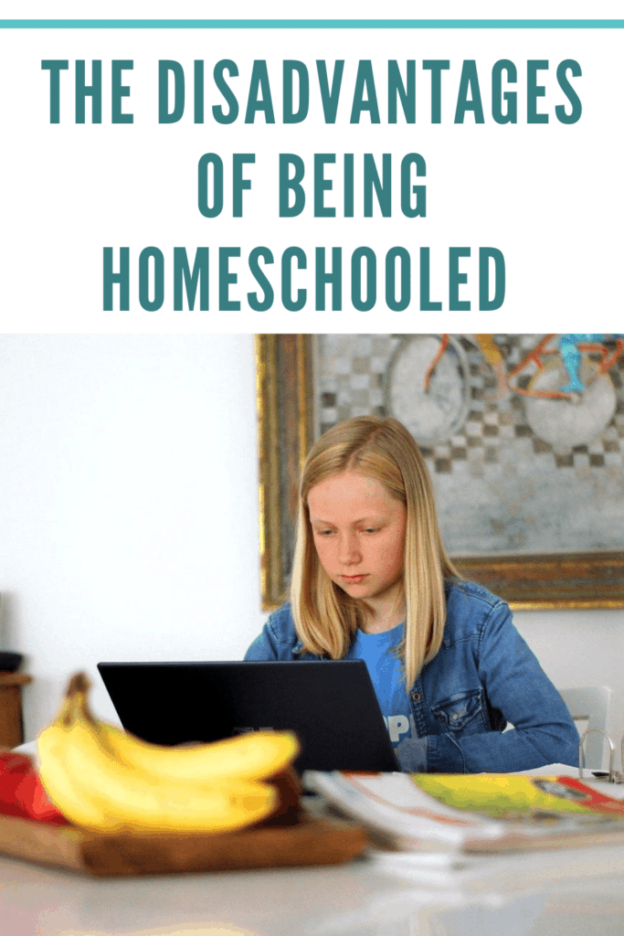 What are the disadvantages of being homeschooled? Read this blog post to find one homeschooling parent's answer. #homeschool #homeschooling #parentingtips #sharinglifesmoments