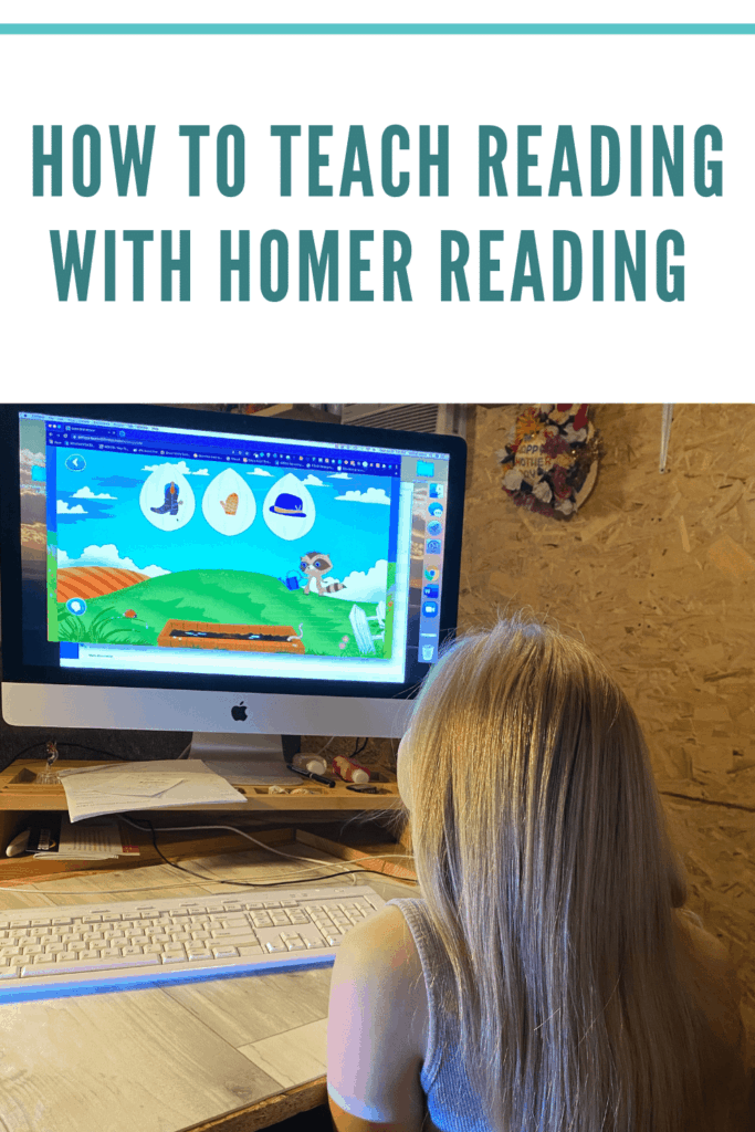 Let's make teaching our kids how to read FUN! with HOMER READING! Learn more about @LearnwithHOMER by reading this #homeschoolmomblogger review. #ishn #homeschoolingtips #ihsnet #sharinglifesmoments