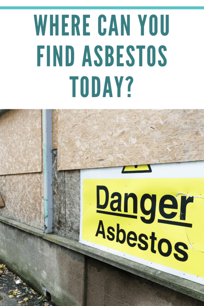 You're exposed to asbestos even today more than you should be. Do you know where you can find asbestos today? Learn more here.