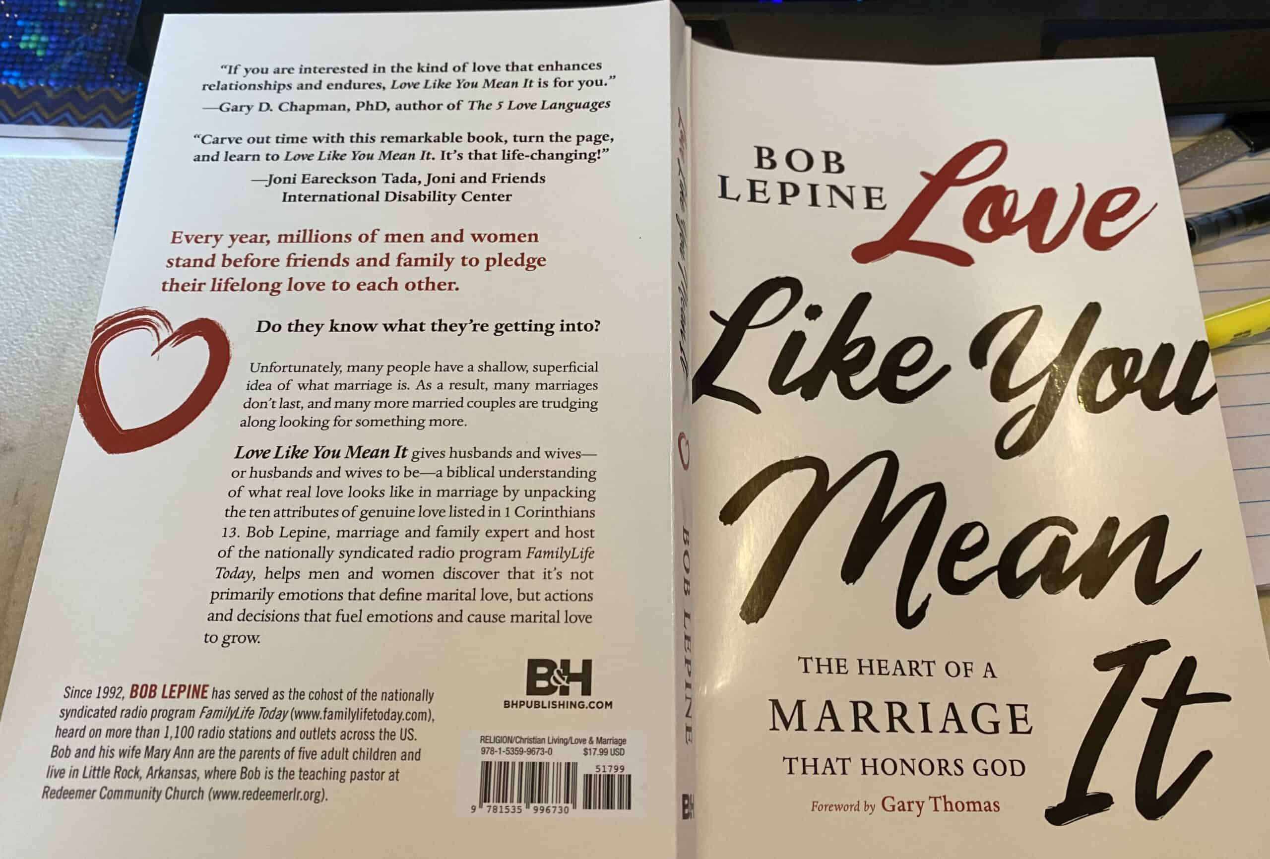 Marriage requires dedication and a ton of love. Read my Love Like You Mean It book review to see why this book is worth reading for married couples. #marriageadvice #marriagelife #sharinglifesmoments #bookreview