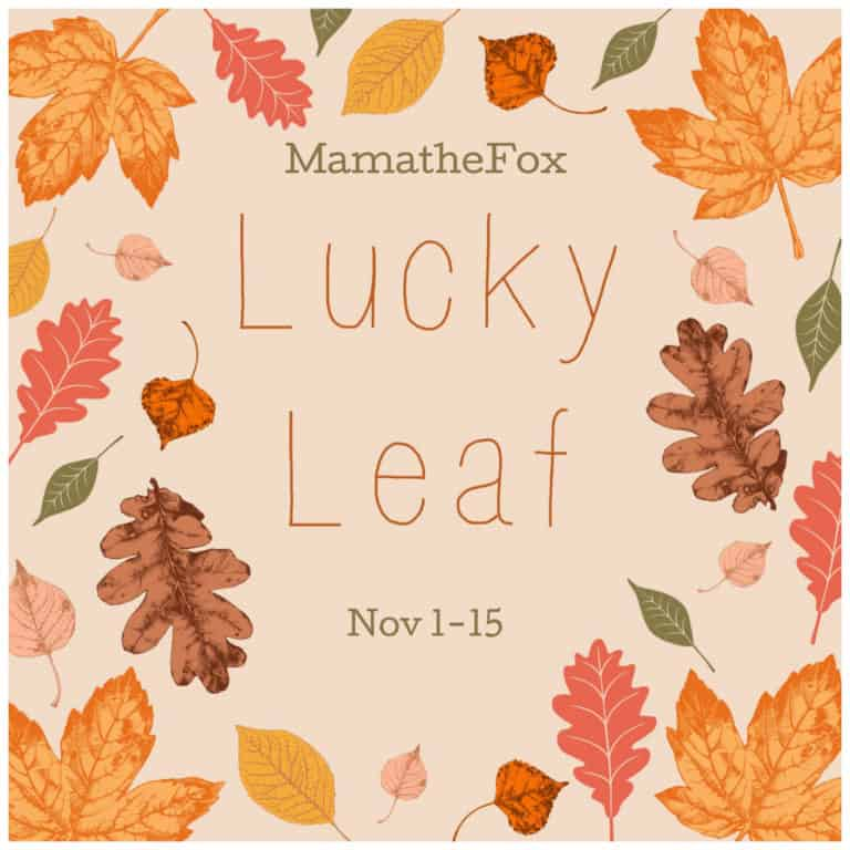 Lucky Leaf Giveaway Hop 1