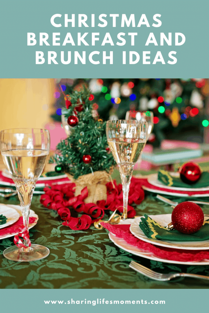 Preparing for Christmas breakfast and brunch ideas doesn't have to be difficult as you may think. Here are a few ideas to help make your load a little lighter. #Christmas  #Christmasplanning #sharinglifesmoments