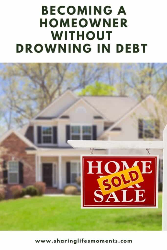 Regardless of your situation, you can manage it. Your mortgage is just another hurdle for you to clear, and this article has some suggestions. Here are tips on becoming a homeowner without drowning in debt. #financialfreedom #sharinglifesmoments