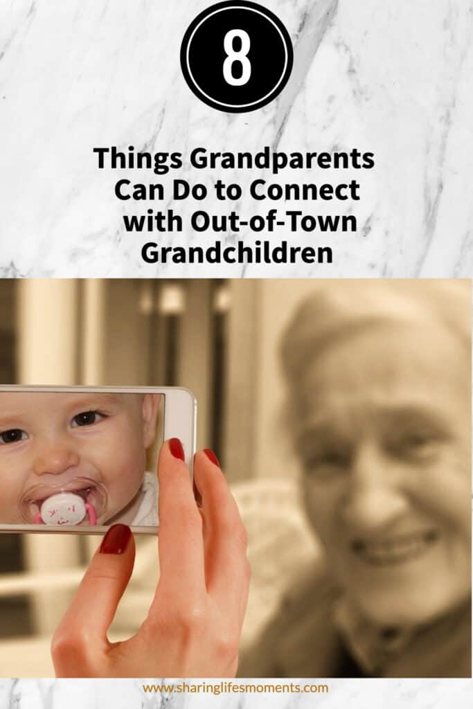 As a mother and grandmother of precious girls that live over 600 miles away from me, I do all I can to stay in touch with them. I'm glad that we have these eight things grandparents can do to connect with out-of-town grandchildren. What methods do you use? #grandparent #familylife #sharinglifesmoments